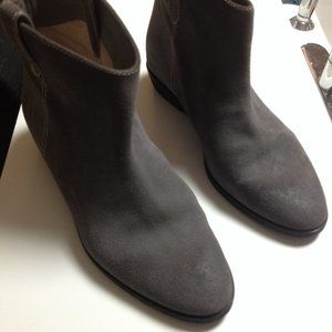Michael Kors gray suede boots size 9